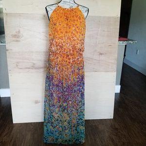 Maggy London Maxi Dress Size 4